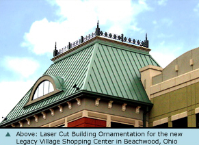 Laser Cut Building Ornamentation